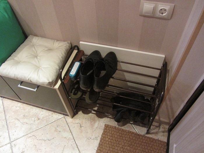 В прихожей должна присутствовать обувница. / Фото: ideas.homechart.ru
