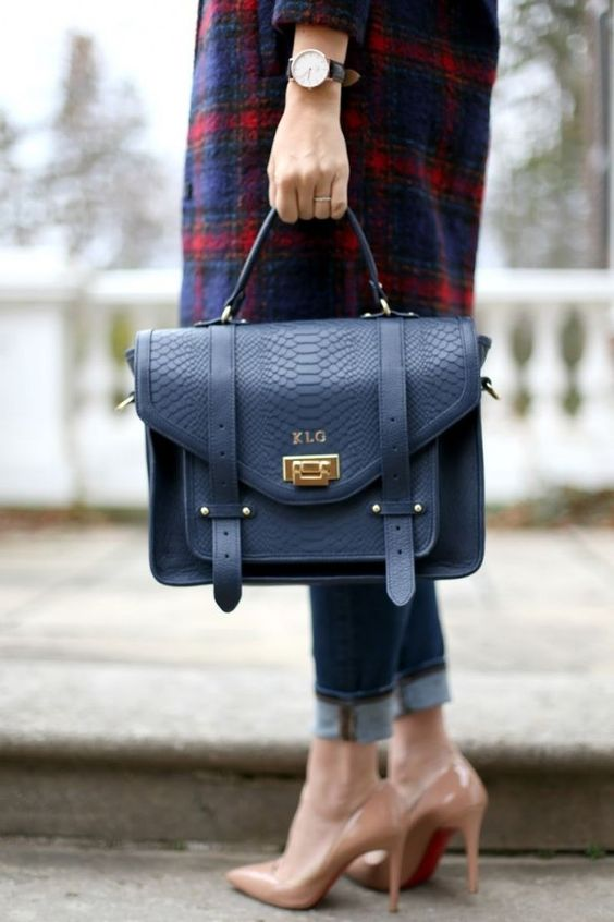 Стильная деталь: сумка-портфель 0