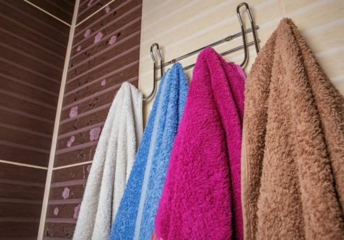 Тщательно высушивайте полотенца после каждого использования / Фото: st2.depositphotos.com