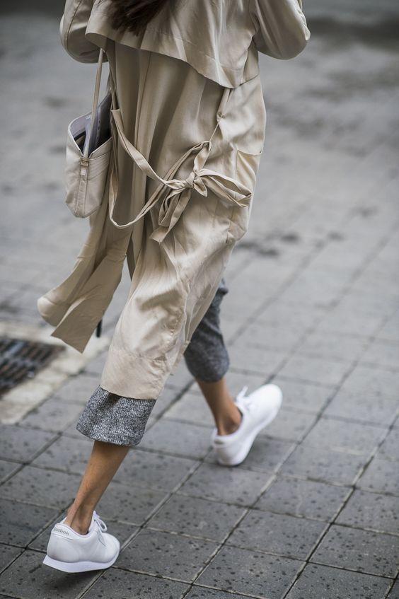 Сникеры, парижский стиль. Sneakers. Parisian style.
