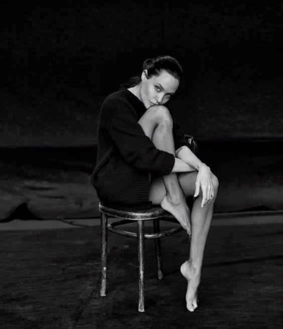 Прекрасная Анджелина: новая фотосессия Джоли.