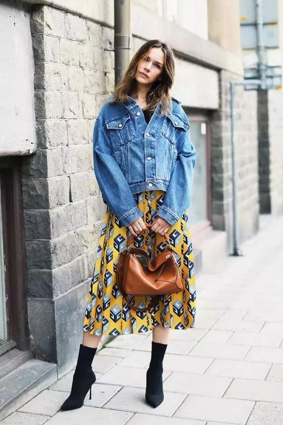"""There is a fashion called """"Classic Eternity"""", no matter how the trend changes, denim jackets, jeans, denim skirts have always had a place in the fashion circle. - Page 30 of 41 - zzzzllee"""
