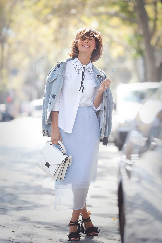 denim jacket outfit, matthew williamson sunglasses, roeffler randall satchel outfit, blue colors outfit, fall outfit ideas,