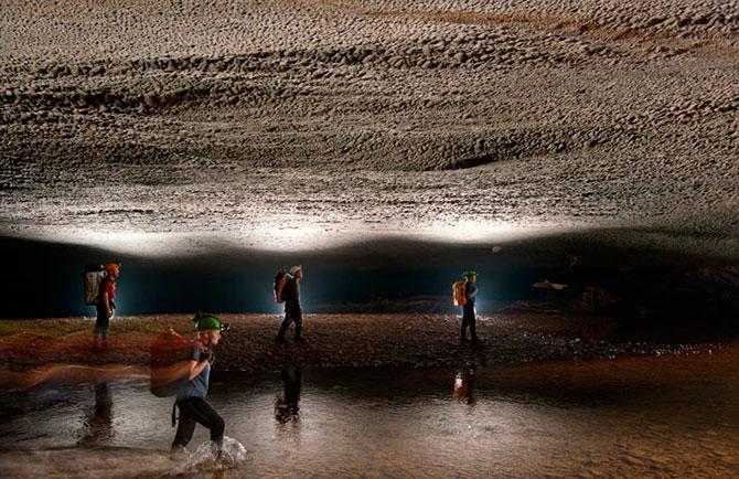Самая большая пещера в мире
