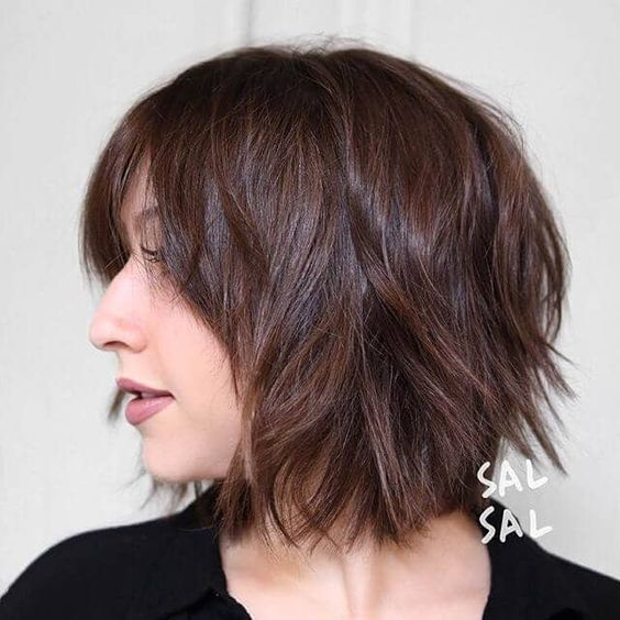 50 Ways To Wear a Chic Shag Haircut Ideas For a Trendy Look in 2019