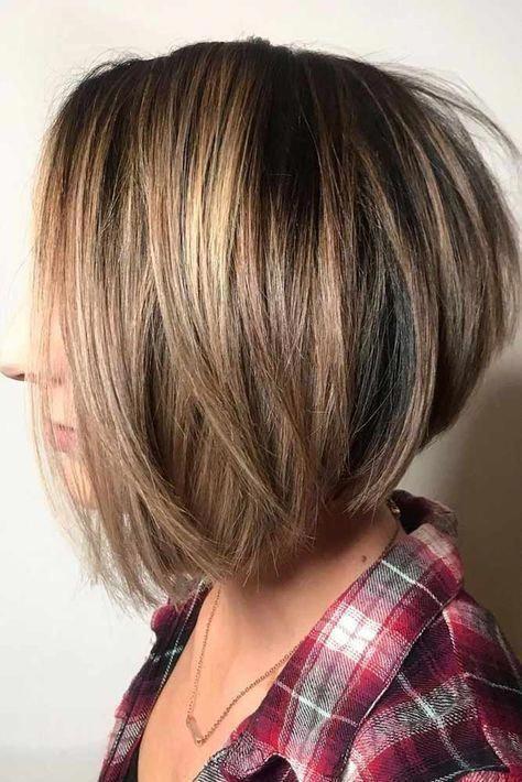 Straight Popular And Stylish Cuts #bobhaircut #stackedbob #haircuts #mediumhair #straighthair #bobstylehaircuts #layeredbobforthinhair