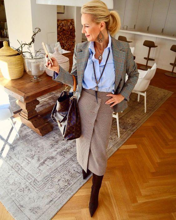 Мода для женщин за 50 от прекрасной немки Bibi Horst | Новости моды