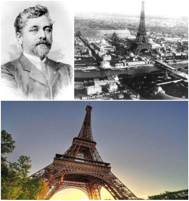 В 1889 г. благодаря конструктору Гюставу Эйфелю в Париже появилась достопримечательность мирового масштаба (Эйфелева башня).   Фото: incomartour.com.ua/ up-pro.ru.