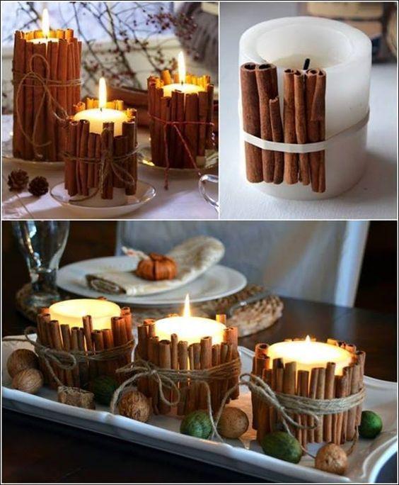 15 способов украсить свечи к Новому году и Рождеству
