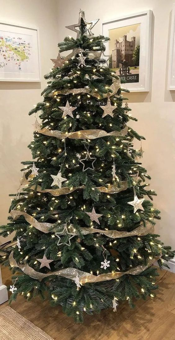 25 Buffalo Check Christmas Tree With Ribbon > yunus.myhomifi.com My buffalo check Christmas tree was so fun to decorate this year! I love seeing how ribbon can help transform a tree like this & it doesn't have to be hard! #ChristmasTreeIdeas #ChristmasTreeDesignIdeas #ChristmasTreewithribbonIdeas