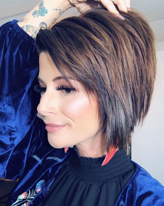 Multi Layered Haircut For Short Hair