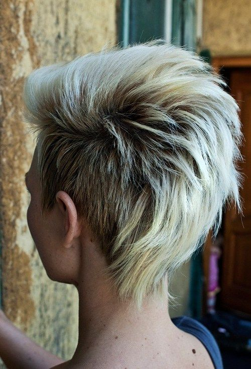 short+mohawk-inspired+haircut Really digging this style!!