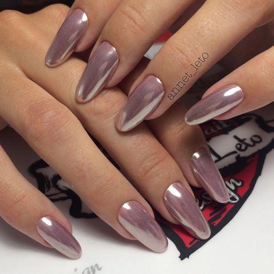 Маникюр Санкт-Петербург в Instagram: «Коррекция ногтей акрил,покрытие гель лаком,пигмент зеркальный.#vkpost…»