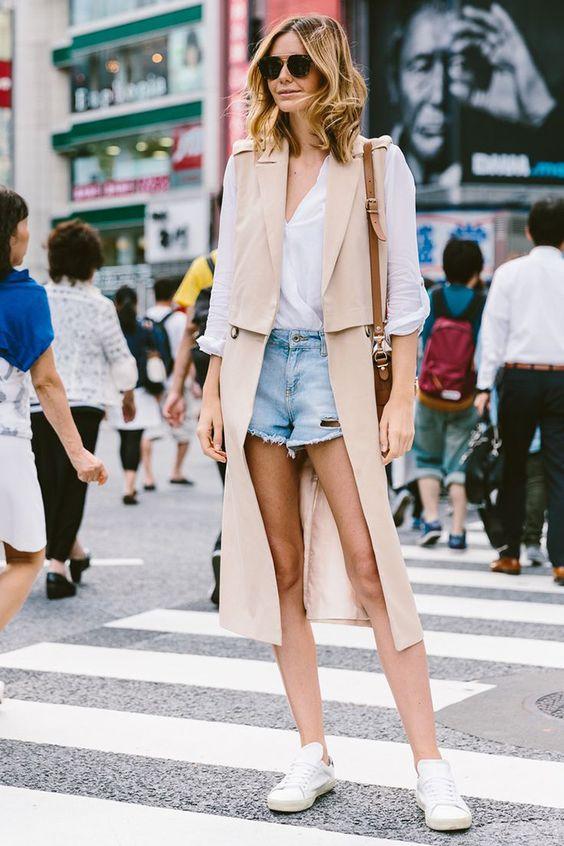 Счем носить летнее пальто: 50 стильных образов | Femmie
