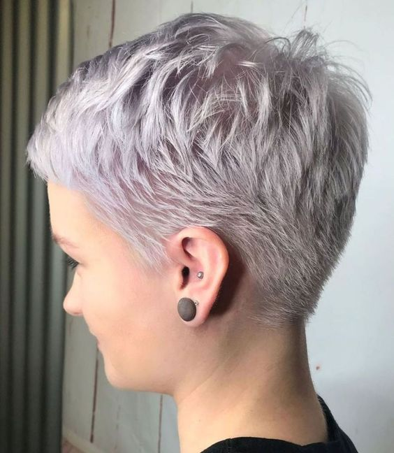 Neat Short Pixie Cut For Fine Hair