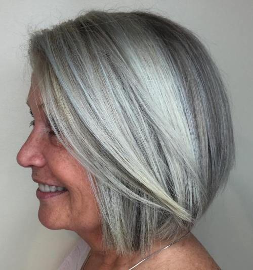Простые короткие стрижки для женщин старше 50 лет: более 60 стильных вариантов - День вдохновения