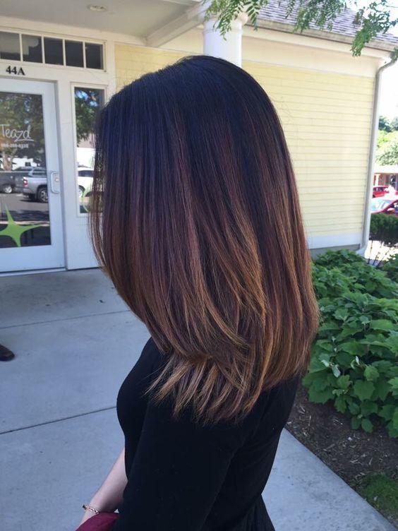 Medium Length Hairstyles: 30 Straight Medium Length Hairstyles for Women to...