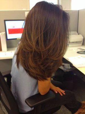 Hair 23 Brightest Medium Length Layered Haircuts and Hairstyles - Fashiotopia
