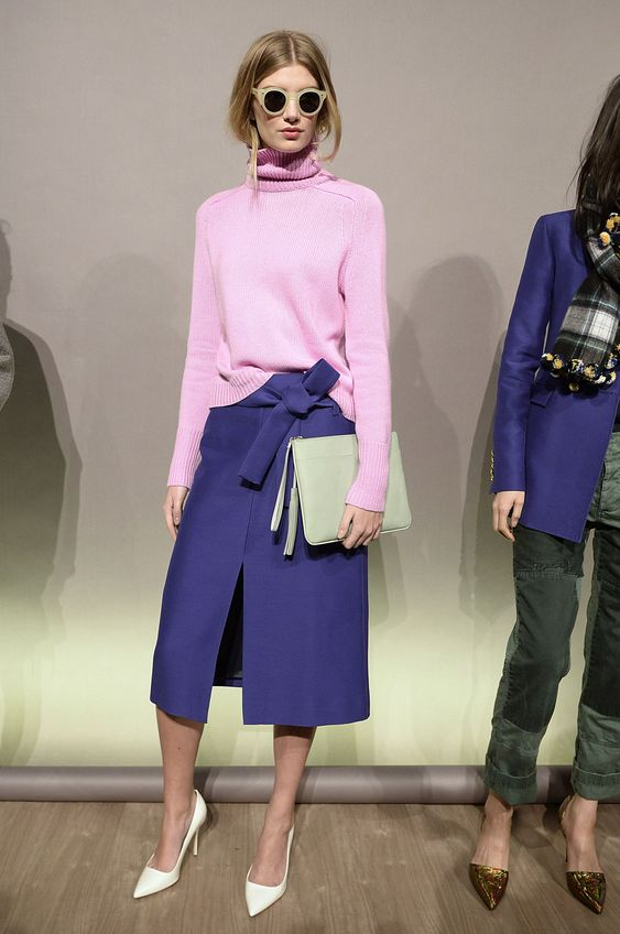 j crew Highlights From New York Fashion Week Fall 2015 - ELLE.com #fashion