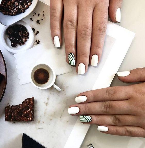 Маникюр на короткие ногти 2018-2019 года: дизайн коротких ногтей, тенденции, фото   GlamAdvice