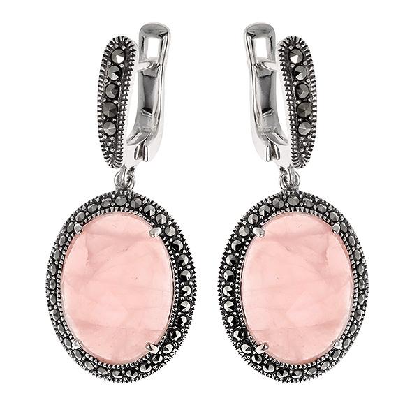 Картинки по запросу розовый кварц украшения