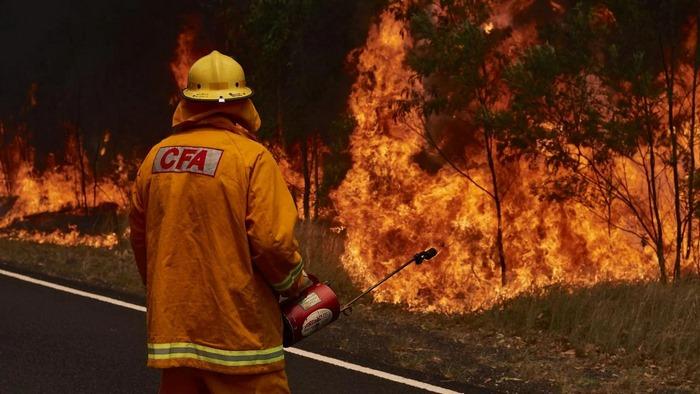 В Австралии пошли дожди после недельных пожаров. Пожарные прыгают от радости