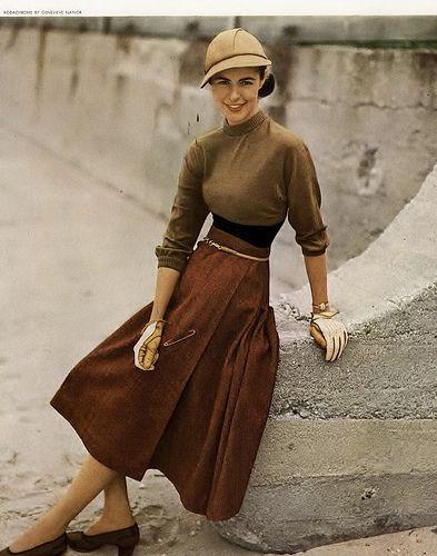 Harper's Bazaar Magazine, August 1949 | Kristine | Flickr