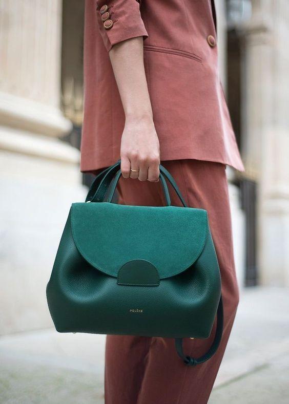 Teal Polyurthane Solid Habdbag And Sling bag #Handbag #Slingbag #teal #Solid #party #Polyurthane